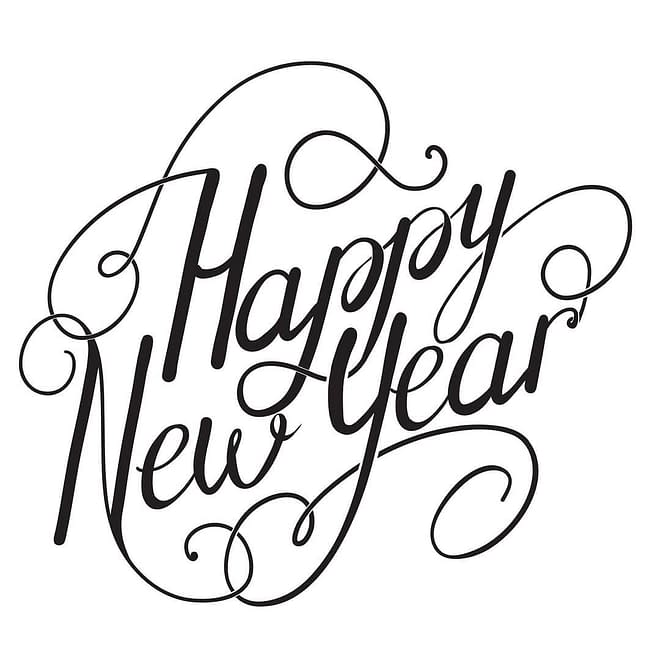Happy New Year from all of us at Unknown Tattoo Co in Everett Washington!
