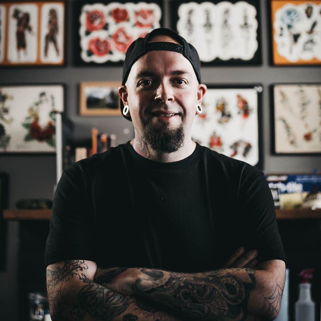 Travis Broyles - Tattoo artist at Unknown Tattoo Co. in Snohomish Washington