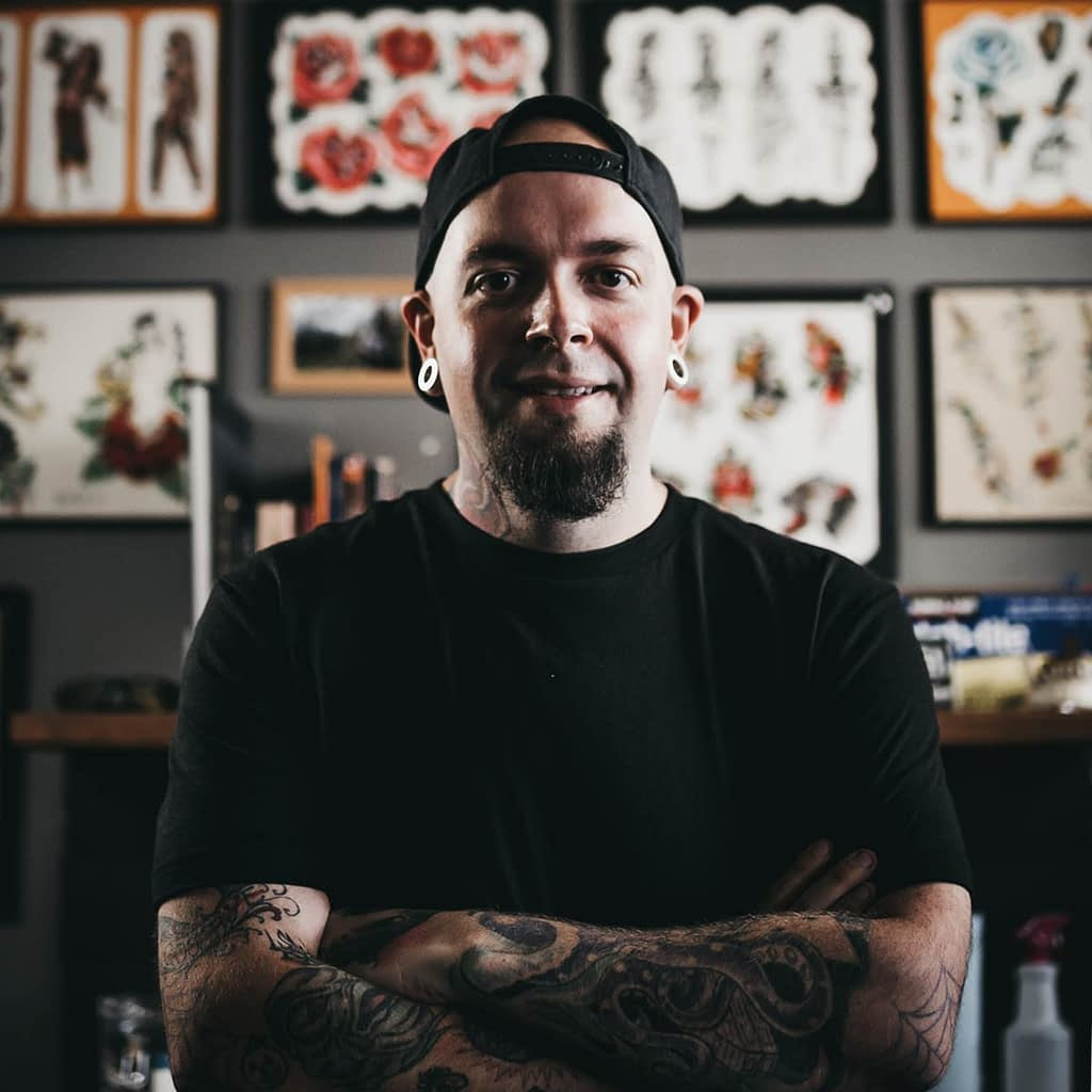 Travis Broyles - Tattoo artist at Unknown Tattoo Co. in Snohomish Washington